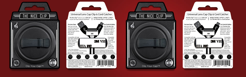 The Nice Clip - Retail Packaging